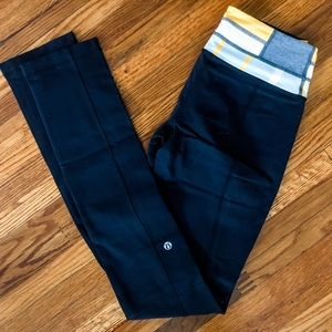 Reversible Straight leg lululemon leggings
